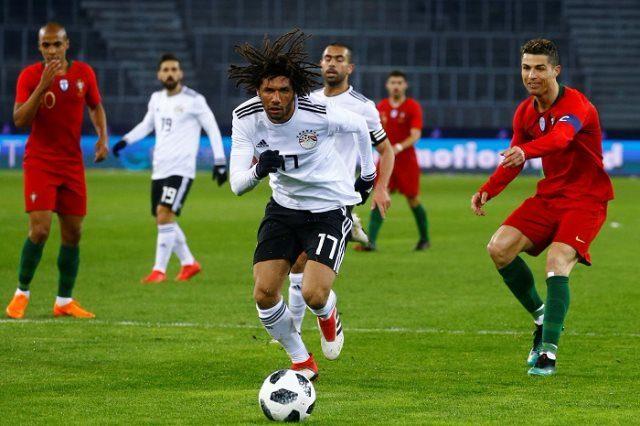 مباراة مصر واليونان