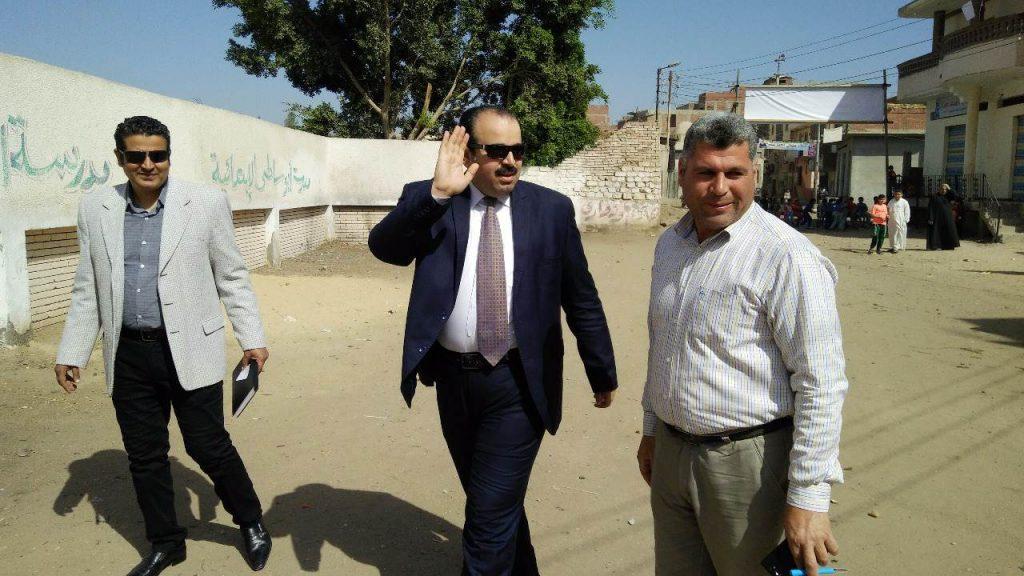 وزارة الصحة بالشرقية يدلي بصوته في انتخابات الرئاسة المصرية 3