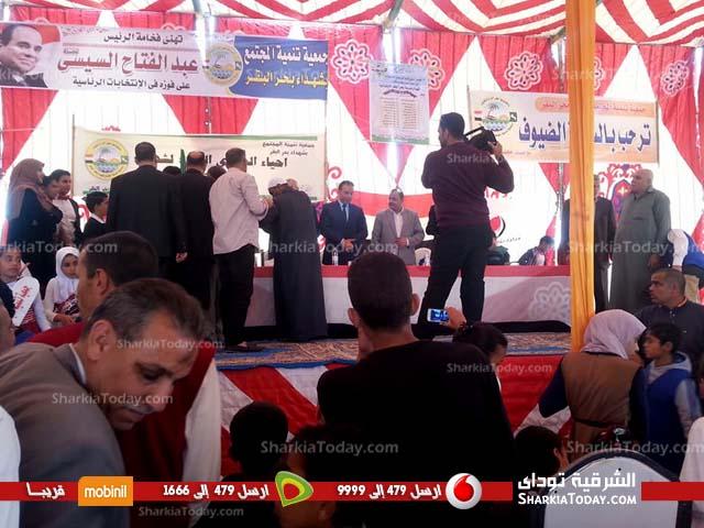الحسينية يحيون الذكري 48 لمذبحة مدرسة بحر البقر 5
