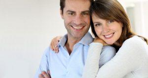 السعادة بين الأزواج