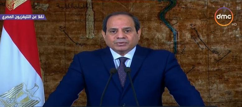 السيسي: تجربة تحرير سيناء تثبت أن المصري لا ينسى ثأرا