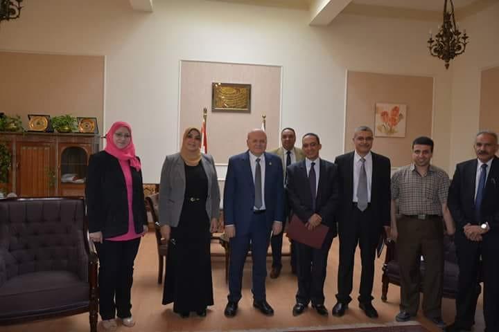 بروتوكول تعاون بين جامعة الزقازيق