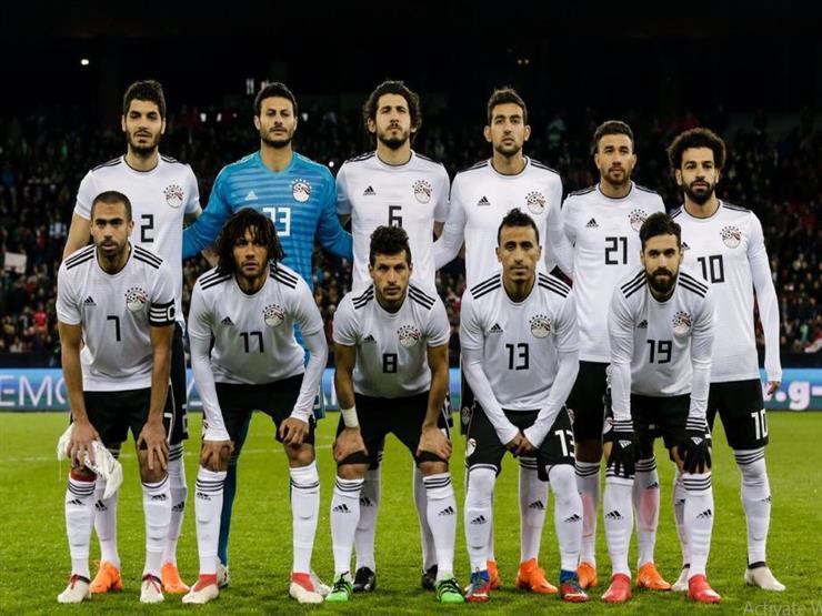 منتخب مصر أمام كولومبيا