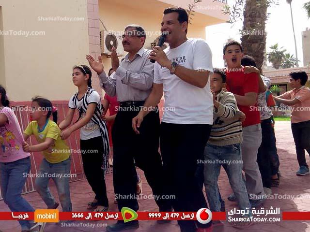 جمعية الهلال الأحمر بالزقازيق تنظم احتفالية ليوم اليتيم