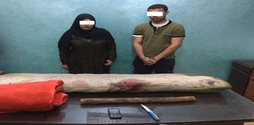 حبس سيدة وعشيقها لقتلهما زوجها والتخلص من جثته بمشتول السوق