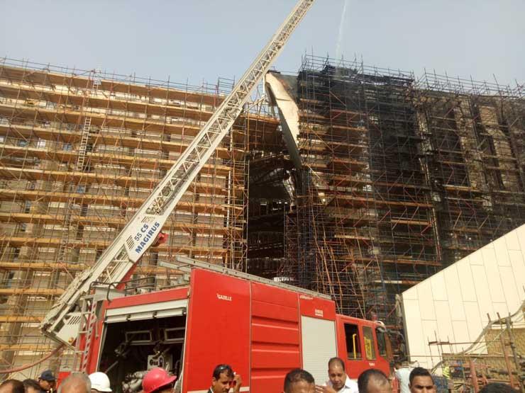 حريق المتحف المصري