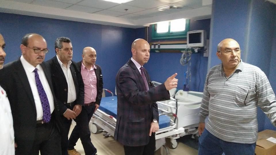 وكيل وزارة الصحة بالشرقية في زيارة لمستشفى فاقوس ويشدد على النظافة الدائمة   الشرقية توداي
