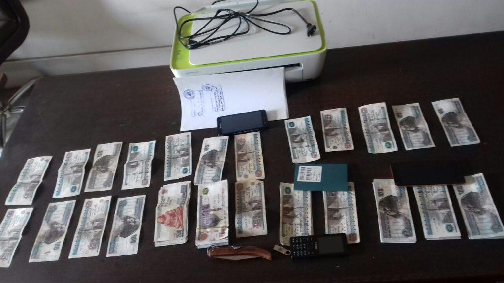 ضبط تشكيل عصابي تخصص في تقليد العملة الوطنية بالزقازيق
