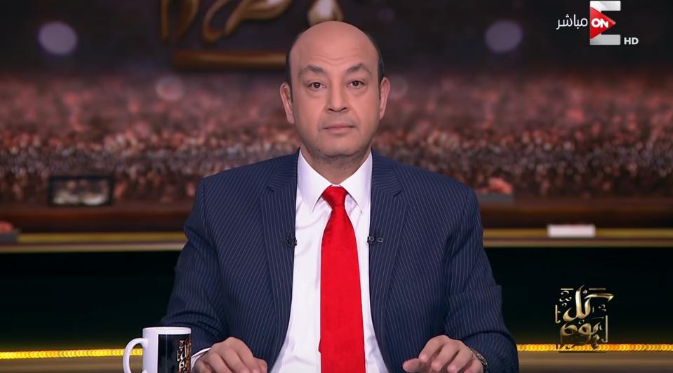 رحيل عمرو أديب عن «ON-E