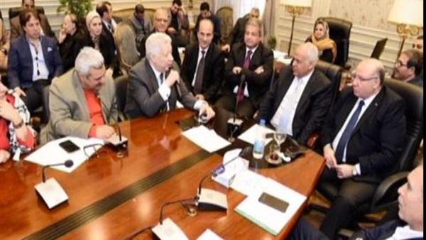 تسجيل مرتضى منصور ووزير الرياضة