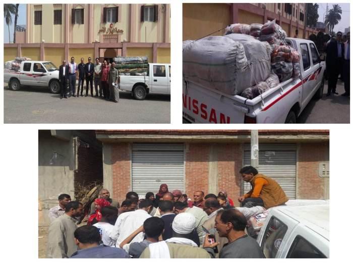 حصر 35 أسرة متضررة من سقوط الأمطار بأبوكبير