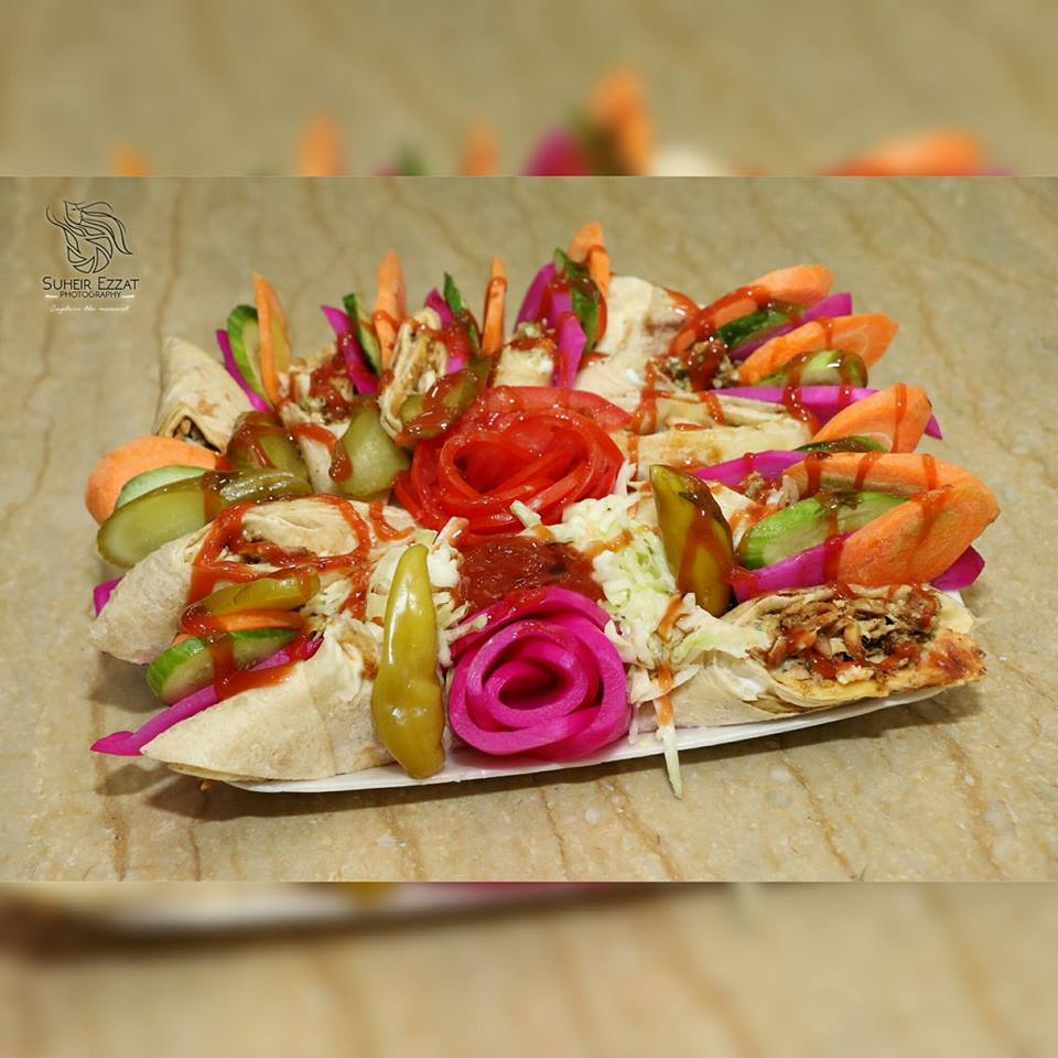 المكرونات بمطعم الركن السوري بالزقازيق