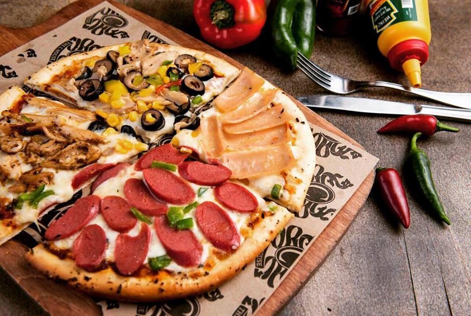 البيتزا بمطعم ذا سي وس بالزقازيق