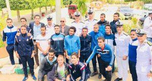 تربية رياضية بالزقازيق تقوم بزيارة لأكاديمية الشرطة المصرية