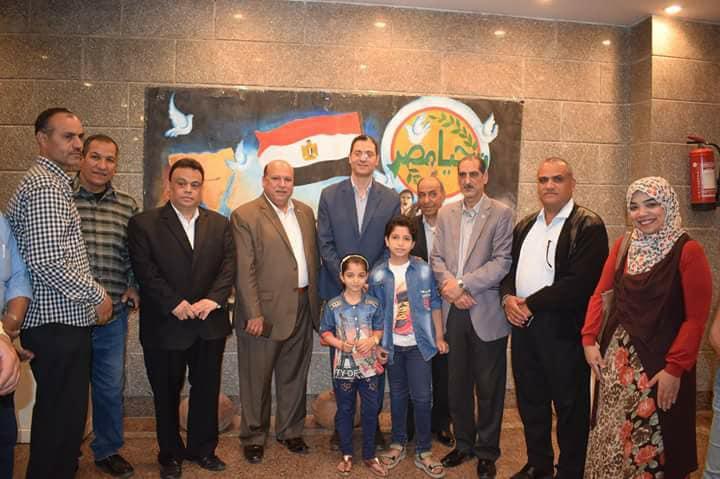 ثقافة منيا القمح تحتفل بعيد تحرير سيناء