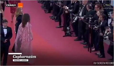 إليسا تتعرض لموقف محرج في مهرجان كان السينمائي