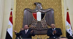 السيسي يحلف اليمين الدستورية أمام البرلمان