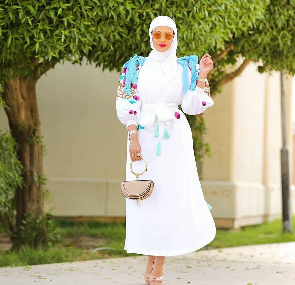 موضة الطرح 2018بإطلالات الفاشينيستا الكويتيّة مرمر
