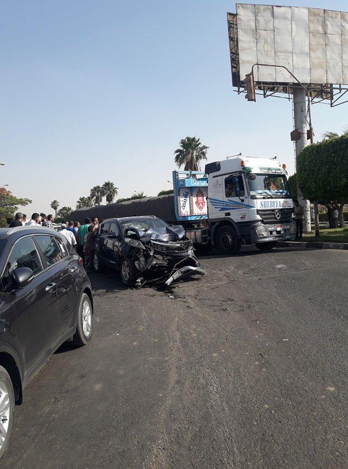 حادث مروع في العاشر من رمضان