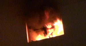 حريق يلتهم شقة سكنية في الزقازيق