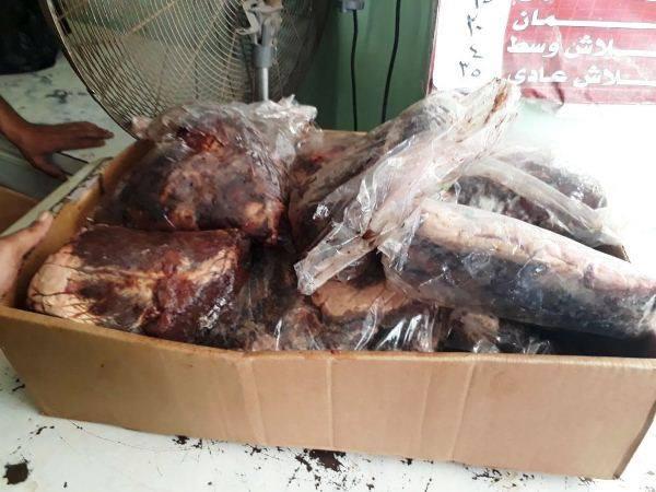 462 كيلو جرام لحوم و دواجن وأسماك غير صالحة بالشرقية