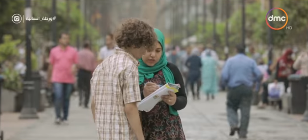 طفل يطلب تعليمه القراءة والكتابة في ورطة إنسانية