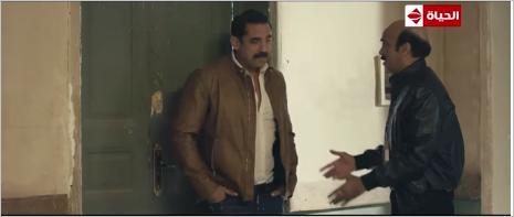 مشهد من الحلقة 6 من مسلسل كلبش 2