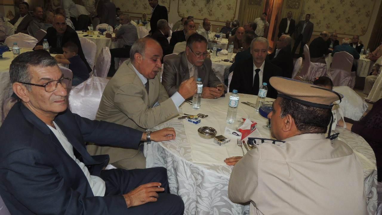 مديرية أمن الشرقية تكرم الضباط السابقين