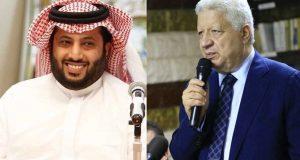 مرتضى منصور يمنح تركي آل الشيخ الرئاسة الشرفية لنادي الزمالك