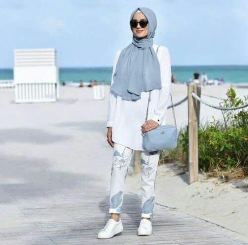 ملابس بحر للمحجبات موضة 2018