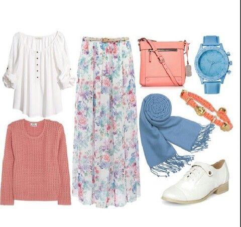 ملابس محجبات صيف 2018