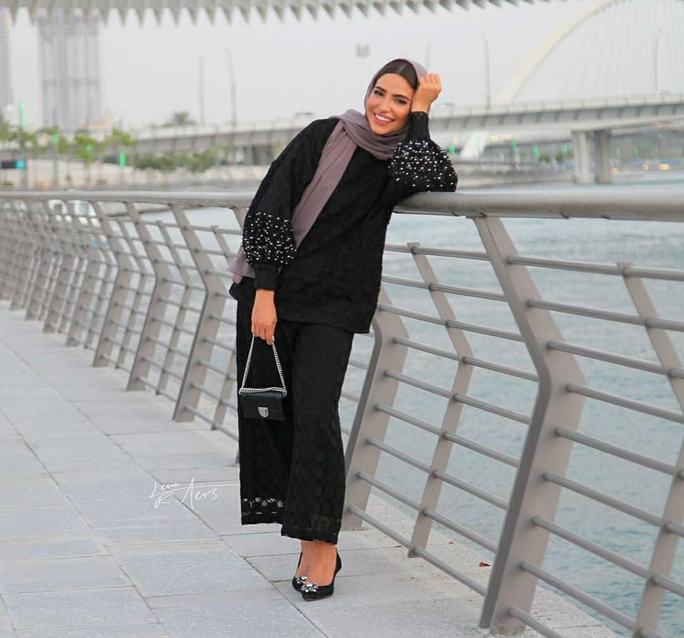 ملابس محجبات كاجوال لصيف 2018 من اطلالة فاطمة حسام