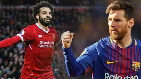 ميسي يطالب برشلونة بالتعاقد مع محمد صلاح
