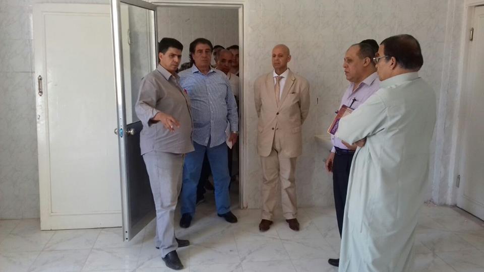 صحة الشرقية يتفقد عدد من المراكز الصحية بأبوحماد5