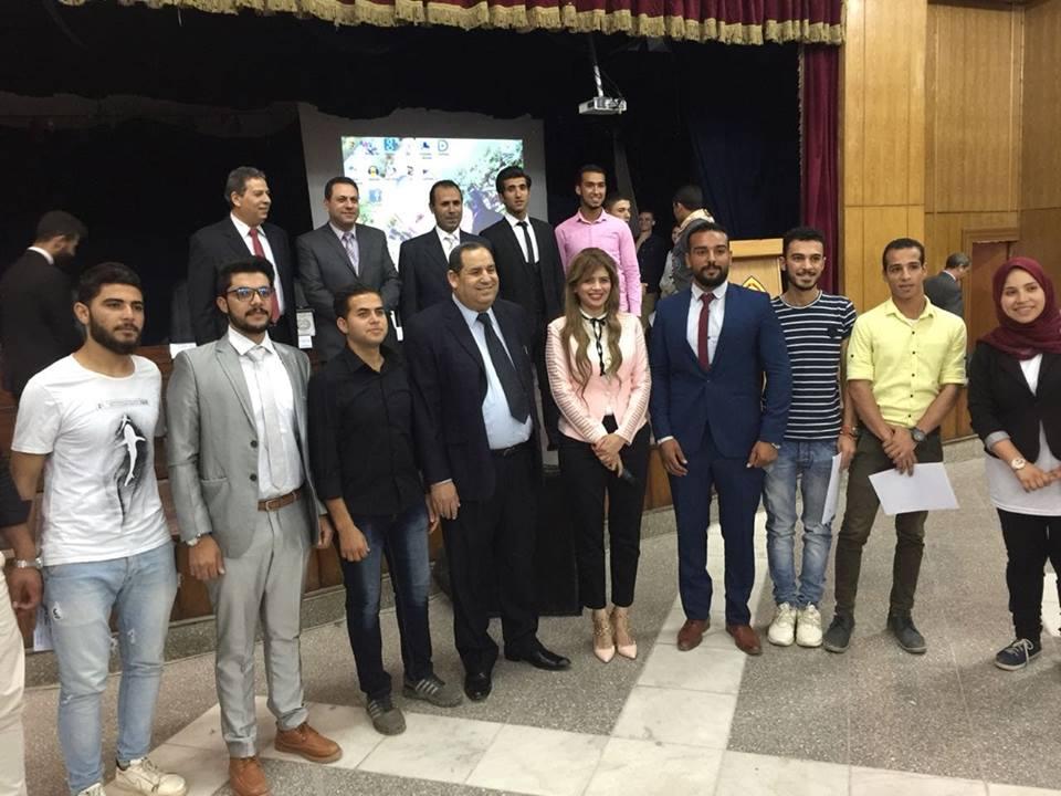 حفل تنصيب طلاب كلية التربية النوعية جامعة الزقازيق