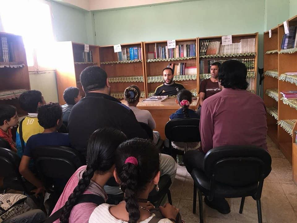 محاضرة حول الأداب العامة فى شهر رمضان الكريمبمكتبة سلمنت الثقافية