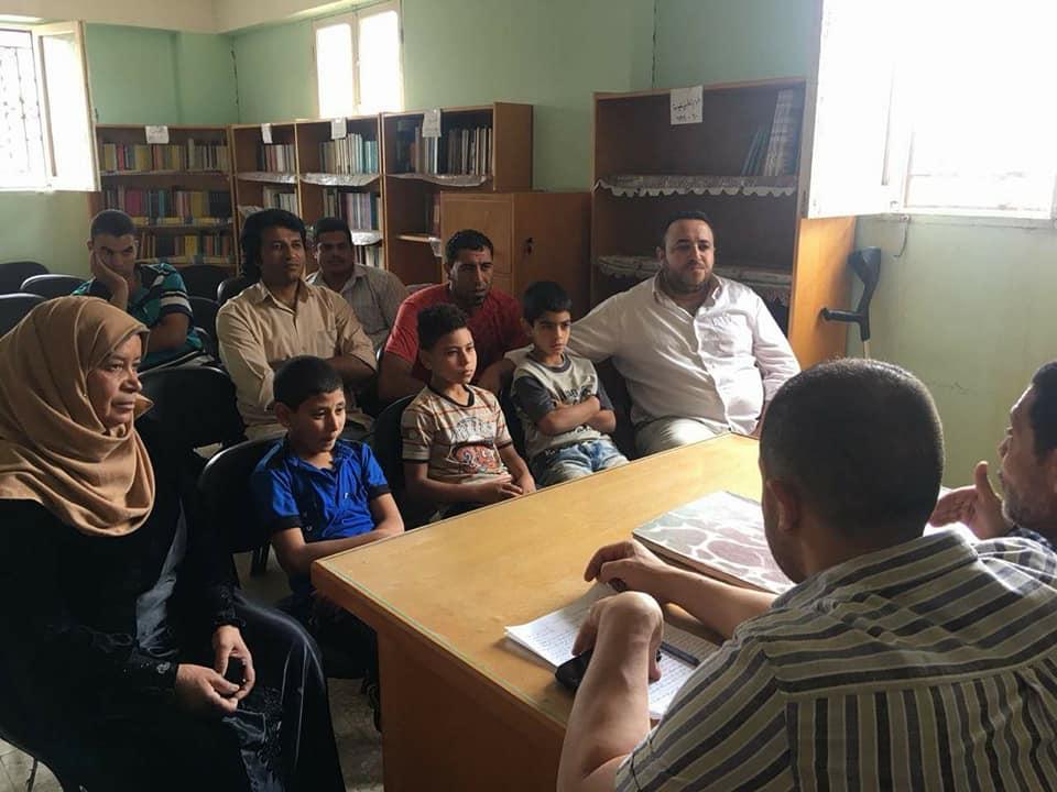 محاضرة عن رحلة العائلة المقدسة بمكتبة سلمنت الثقافية