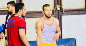 أحمد حسن يحرز برونزية المصارعة