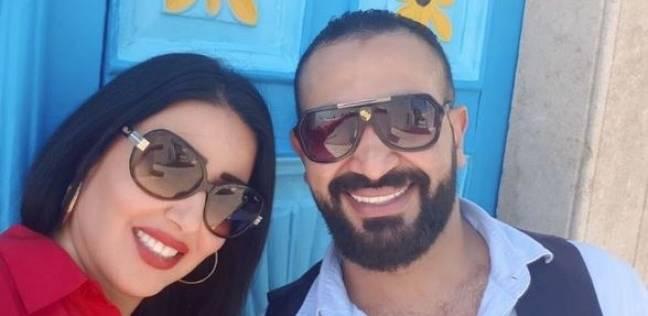 سمية الخشاب و أحمد سعد