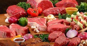 اللحوم على معدة خاوية