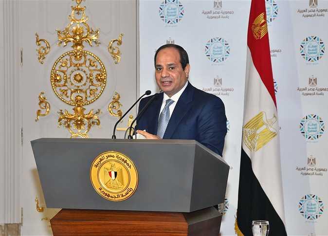 السيسي يكرم أبطال مصر في دورة ألعاب البحر المتوسط