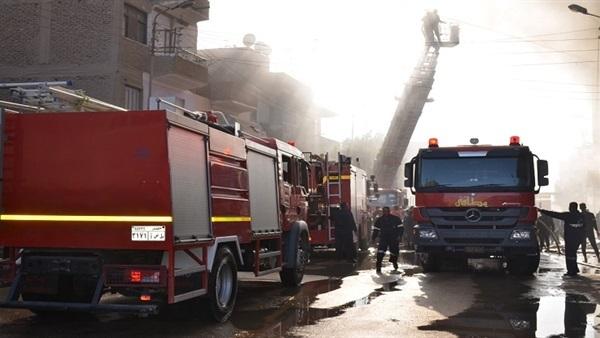 انفجار داخل 3 مصانع فى برج العرب