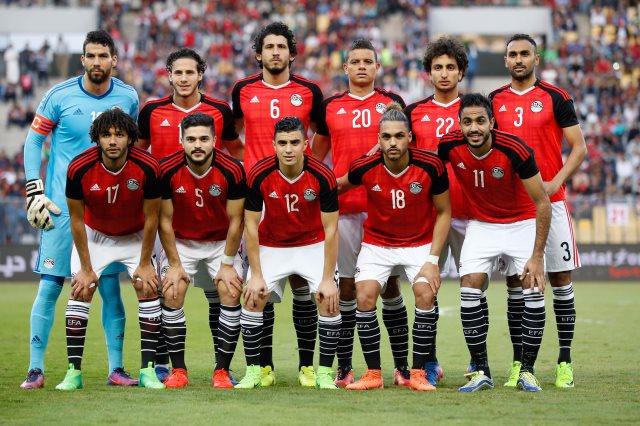 انهيار لاعب منتخب مصر