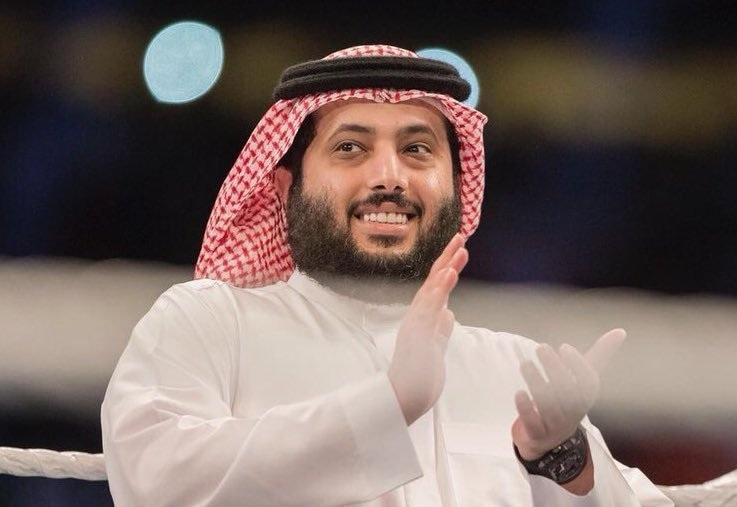 تركي آل الشيخ يظهر في إعلان بيراميدز