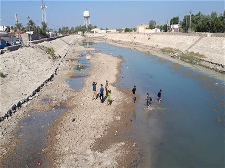 جفاف نهر دجلة