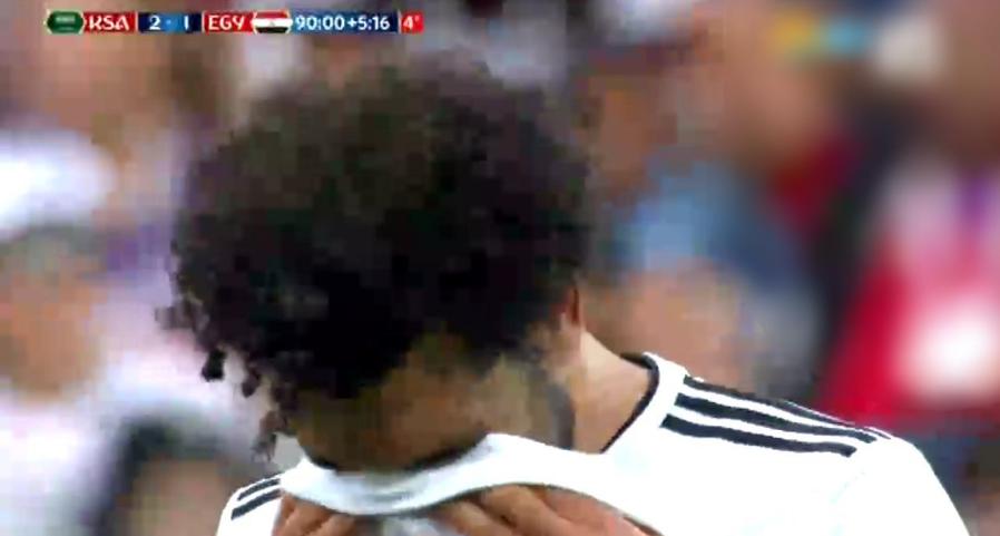 دموع وحسرة لاعبي منتخب مصر