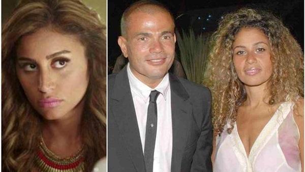 زوجة عمرو دياب تستفز الهضبة