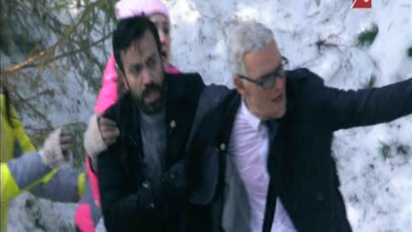 سامح حسين في رامز تحت الصفر