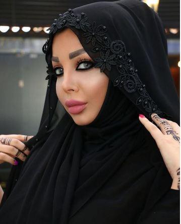 شقيقة هيفاء وهبي ترتدي الحجاب