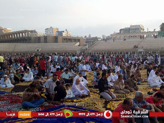 موعد صلاة عيد الفطر بالزقازيق في محافظة الشرقية